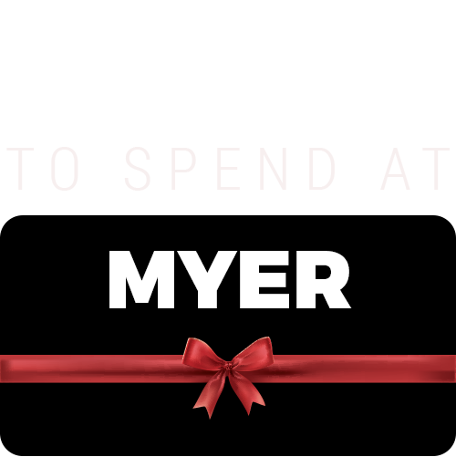 $1000 to spend at Myer