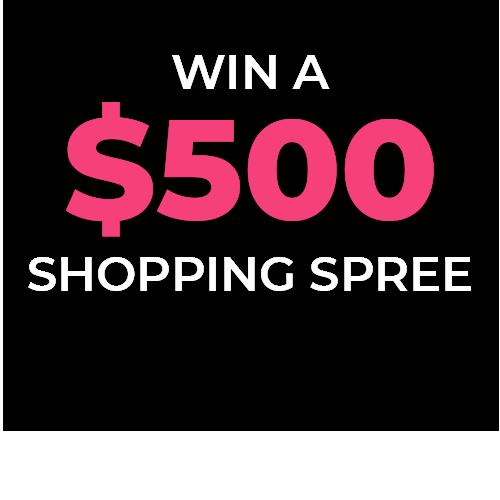$500 Shopping Spree