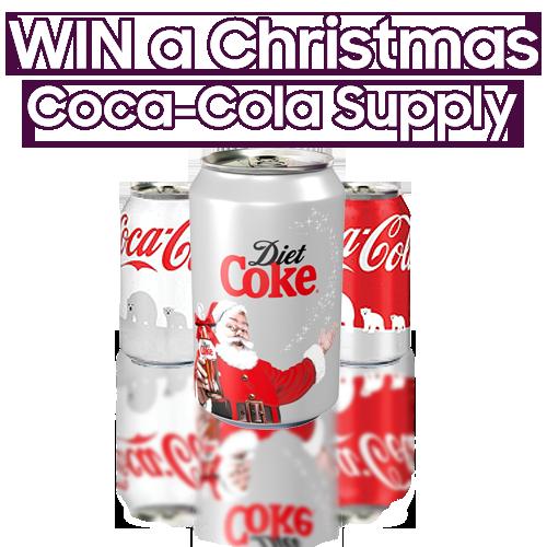 Christmas Coca Cola supply
