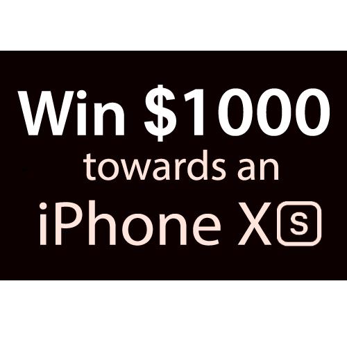 $1000 towards an iPhone XS
