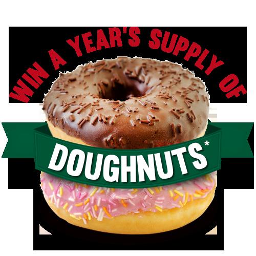 Years supply Doughnuts