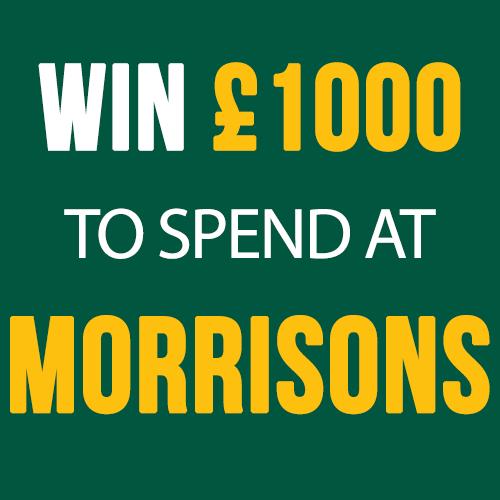 £1000 Morrisons vouchers