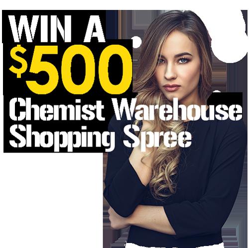 $500 Chemist warehouse