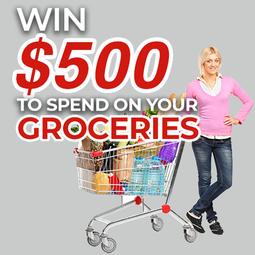 $500 Grocery Shopping voucher