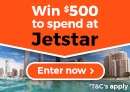 Win $500 to spend at JetStar