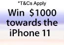 Win $1000 towards the iPhone 11