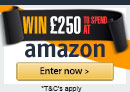 Win £250 of Amazon Vouchers