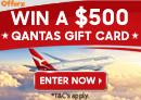 Win $500 of Qantas Vouchers