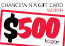 Win $500 cash to spend in Kogan