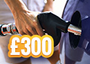 Win £300 fuel vouchers