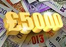 Win £5000 cash