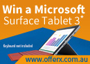 Win a Microsoft Surface 3 Tablet