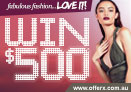 Win $500 cash to spend in Noni B or MissGuided