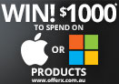 Win $1000 to spend at Apple or Microsoft