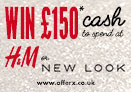 Win £150 cash to spend in New Look or H&M