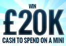 Win £20,000 to buy a Mini Convertible