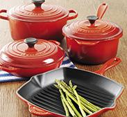 Win a set of Le Creuset Pans!