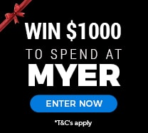 Win $1000 to spend at Myer
