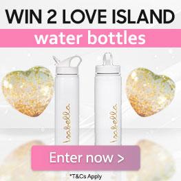 Win 2 Love Island Water Bottles