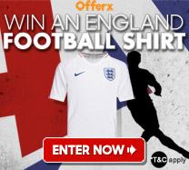 Win a England Football shirt