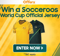Win a Socceroos Official Jersey