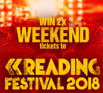 WIN two weekend tickets to Reading Festival