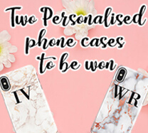 Win 2 Personalised phone cases