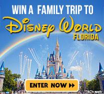 Win a Trip To Disney World Florida