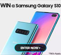 Win a Samsung Galaxy S10