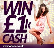 Win £1000 cash