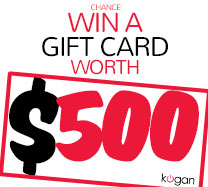 Win $500 cash to spend in Kogan