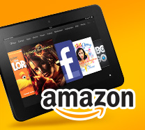 Win an Amazon Kindle Fire HD Touch