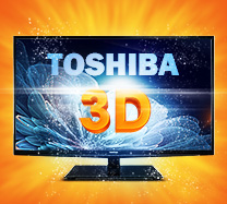 "Win a Toshiba 46"" widescreen 3D TV"