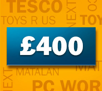 Win £400 of Shopping Vouchers