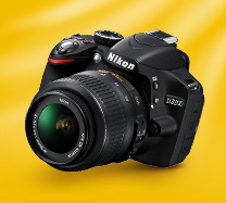 Win a Nikon Digital SLR camera