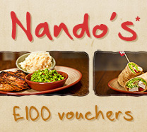 Win a Meal at Nando's!