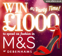 Win £1000 of M&S vouchers