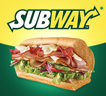 Win 1 of 4 Subway Giftcards