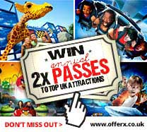Win annual Merlin Attraction Passes for 2