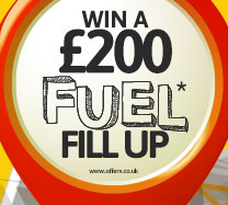 Win £200 cash to spend on fuel with Shell