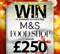 Win a £250 M&S shopping spree