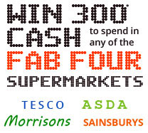 Win £300 worth of vouchers