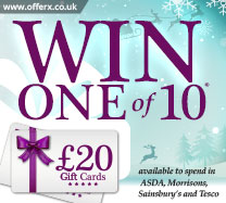 Win One of x10 Supermarket £20 Gift Card