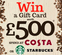 Win a £500 Coffee Gift Card