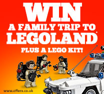 Win a Family trip to Legoland plus a bundle of Lego