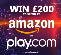 Win £200 to spend in Amazon or Play.com