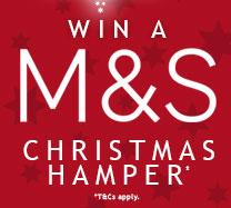 Win a M&S Christmas Hamper
