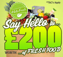 Win a £200 Hello Fresh gift card