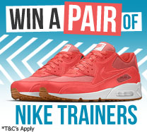Win £200 to spend on Nike Trainers