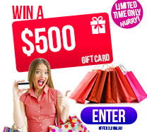 Win a $500 Giftcard